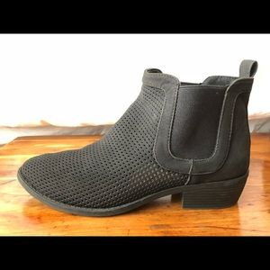 Restricted Black Chelsea Bootie Size 8.5